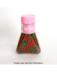 Holly and berries Christmas Sprinkles