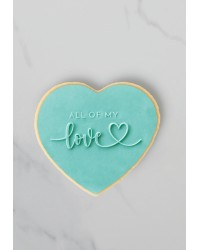COO KIE Embosser Stamp All of my love