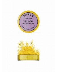 Barco Lilac Label pearl lustre dust powder Yellow