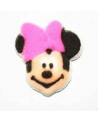 Minnie Mouse Face sugar icing decorations (12)