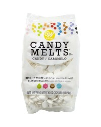 Candy melts Bright WHITE LARGE 1.02kg (like chocolate for melting and moulding)