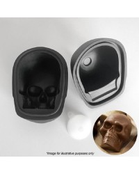 Skull 3d silicone mould