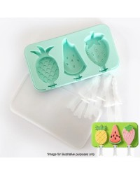 FRUIT POPSICLE SILICONE MOULD Pineapple watermelon strawberry