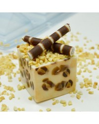 Cube chocolate mould 4cm
