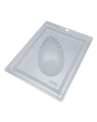 Shell Texture Easter Egg chocolate mould