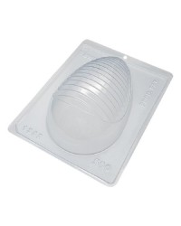 Striped Easter Egg chocolate mould 500g size