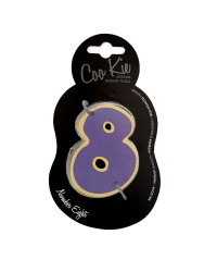 Coo Kie NUMBER 8 Eight Cookie Cutter
