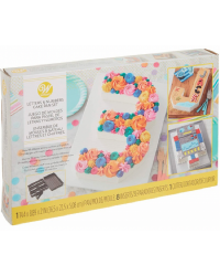 Alphabet and Numbers cake pan Make any letter or number
