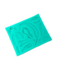 Wings and Feathers silicone mould
