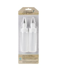 Sweet Sugarbelle 4oz 236ml Squeeze bottles with coupler and tip set of 2
