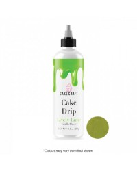 Cake Craft coloured chocolate Cake drip 250g Lively lime Green