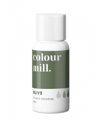 Colour Mill Oil Based Food Colouring Olive