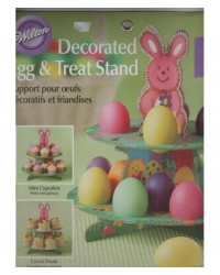 image: Decorated egg & treat stand