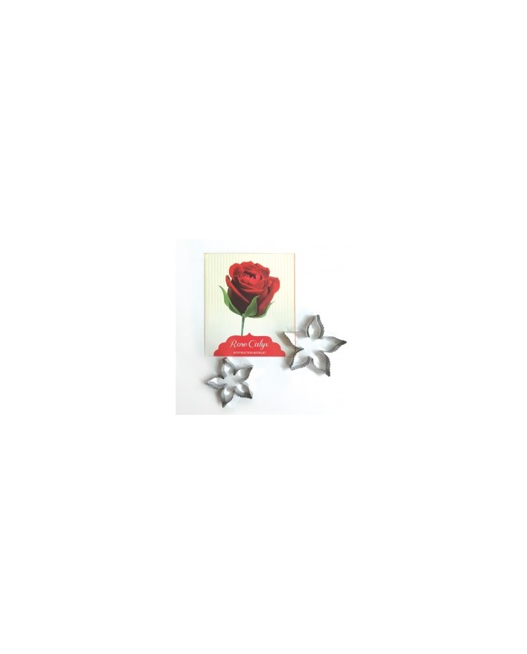 image: Rose calyx icing flower cutter set 2