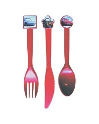image: Cars Lightning McQueen party cutlery (12 pieces)