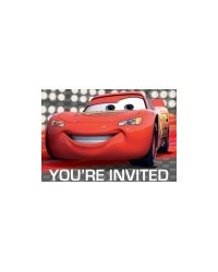 image: Cars Lightning McQueen party invites (8)