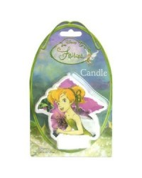 image: Disney Fairies Tinkerbell candle