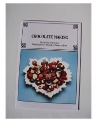 image: Chocolate moulding & making instruction book