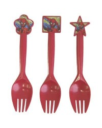 image: Spiderman party cutlery (12)