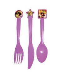 image: Disney Fairies Tinkerbell party cutlery (12)
