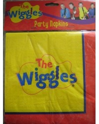 image: The Wiggles party napkins (16)