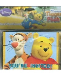 image: Winnie the Pooh & friends party invites (8)