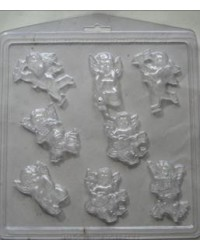 image: Cherubs or Cupids Valentine chocolate mould