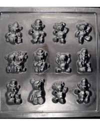 image: Teddy bears small chocolate mould