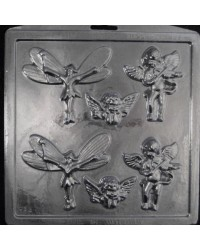 image: Fairies & cupids or cherubs  chocolate mould