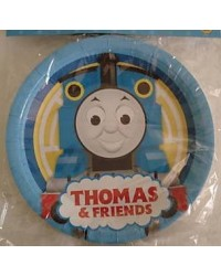 image: Thomas the tank engine party plates (8)