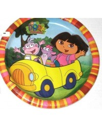 image: Dora the explorer dinner party plates (8)
