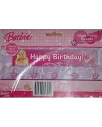 image: Barbie party banner