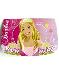 image: Barbie party invites (8)