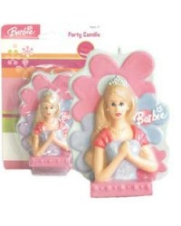 image: Barbie 3d candle