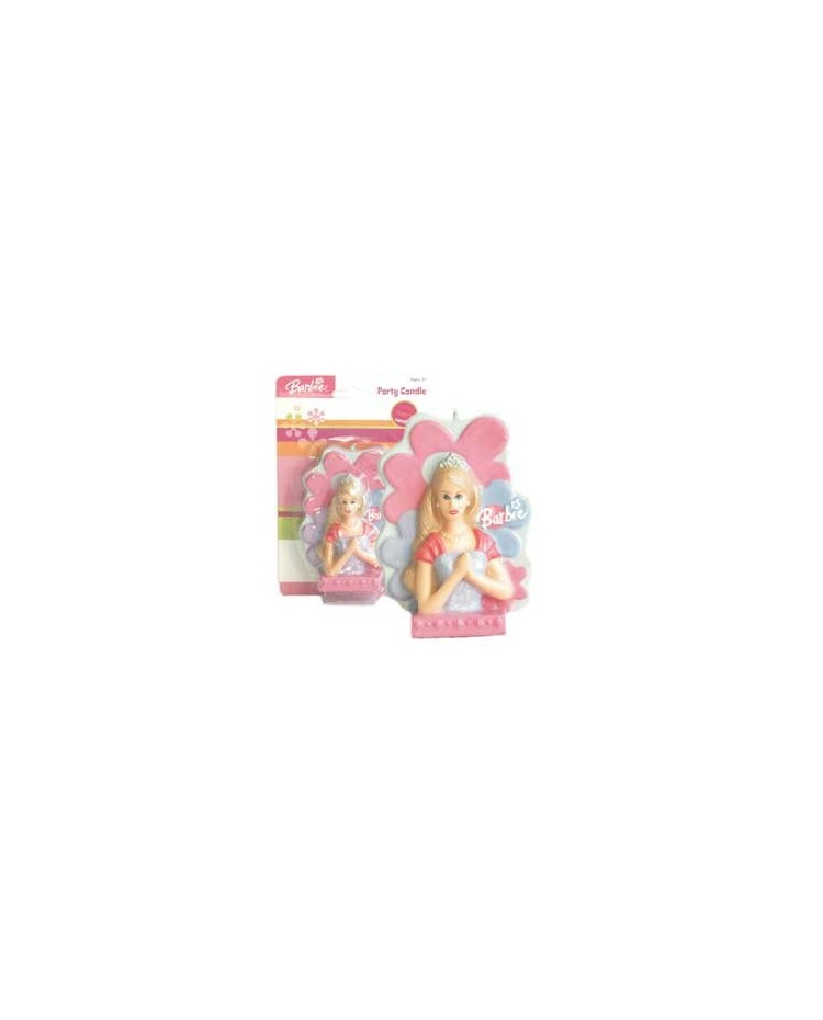 Barbie 3d Candle