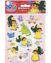 image: Dora the explorer party sticker sheets (4)