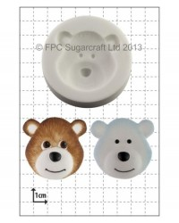 image: Bear Head silicone mould