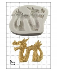 image: Chinese Dragon (LEFT facing) silicone mould