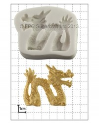 image: Chinese Dragon (RIGHT facing) silicone mould