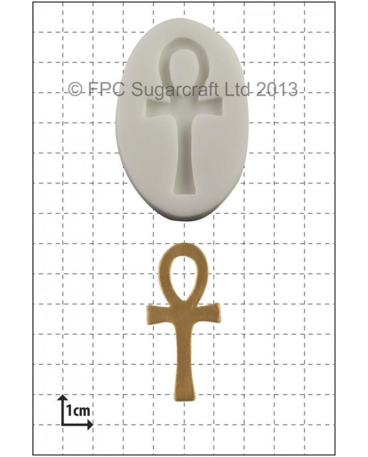 image: Ankh Cross silicone mould