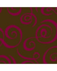 image: Chocolate transfer sheet Curls (WINE)
