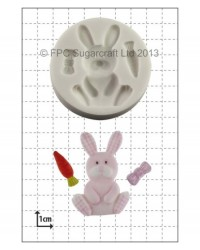 image: Nursery Bunny silicone mould great for baby shower