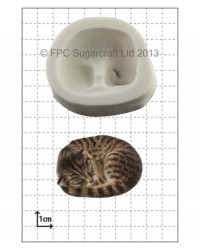 image: Sleeping Curled Cat silicone mould