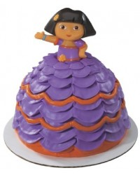 image: Dora the Explorer doll pick cake decoration topper