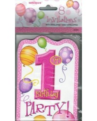 image: 1st birthday party invites (8) PINK