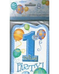 image: 1st birthday party invites (8) BLUE