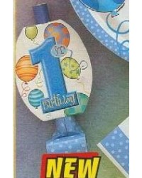image: 1st birthday party blowouts (8) BLUE