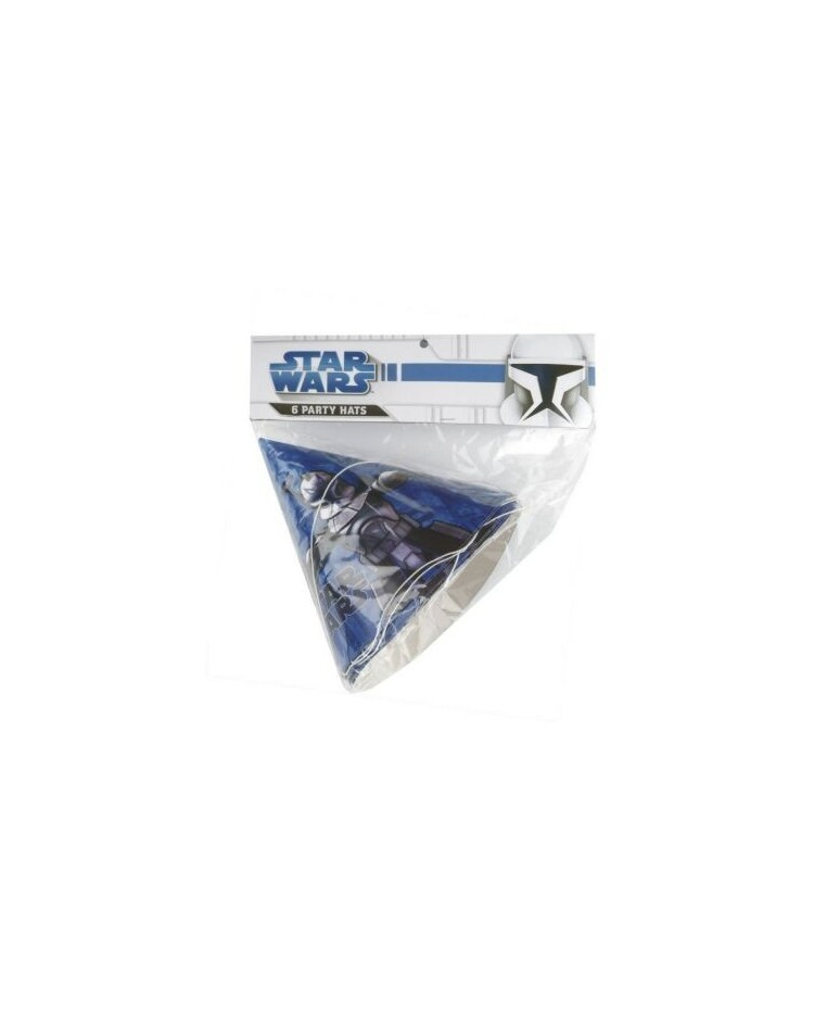 Star Wars Clone Wars Party Hats 6