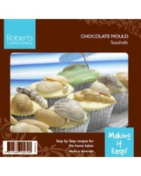 image: 3d Seashells chocolate mould