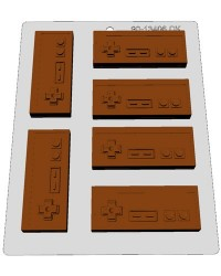 image: Classic Video game controller chocolate mould